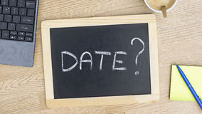 Date at the office Royalty Free Stock Photo