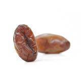 Date palm (Fruit) isolate on white background Stock Photography