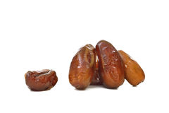 Date palm (Fruit) isolate on white background Royalty Free Stock Image