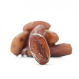 Date palm (Fruit) isolate on white background Stock Photos