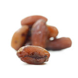 Date palm (Fruit) isolate on white background Royalty Free Stock Photography
