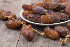 Date palm fruits or kurma, ramadan kareem Royalty Free Stock Image