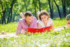 Date in park Royalty Free Stock Photography