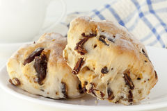 Date Scones Royalty Free Stock Photography