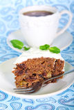 Date wholemeal cake Stock Photos