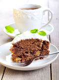 Date wholemeal cake Royalty Free Stock Image