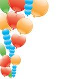 Datei überlagert ballone Stockfotografie
