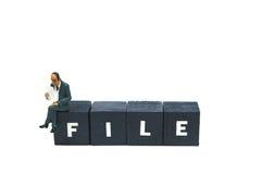 Datei stockbilder