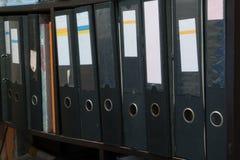 Datei-Archiv auf Bretterboden Lizenzfreie Stockfotografie
