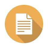 Datei-Ikone Lizenzfreie Stockfotografie