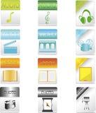 Datei-Ikonen Stockfotos