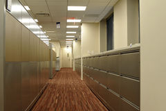 Datei-Kabinette Stockfoto
