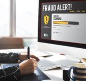 Datei-Schutz-Brandmauer-Schadsoftware-Abbau-Konzept Stockfoto