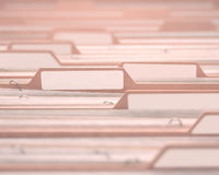 Datei-weißer Aufkleber Stockfotos