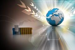 Dateiübertragung Lizenzfreie Stockfotos
