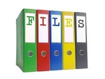 Dateien stockfotos