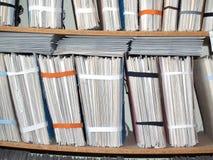 Dateien Lizenzfreies Stockfoto