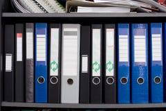 Dateifaltblätter Lizenzfreies Stockbild