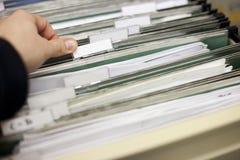 Dateikabinett Lizenzfreies Stockfoto