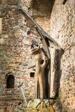 Dateiname: Turin, Piemont, Italien, am 27. August 2017 Statue von St. Lizenzfreie Stockfotografie