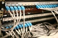 Datenübermittlungsabschnitte Stockfotos