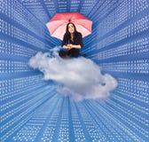 Datenübertragung Stockfoto