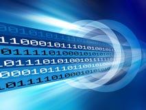Datenübertragung lizenzfreie abbildung