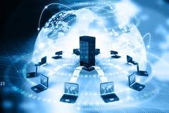 Daten-Übertragung stock abbildung