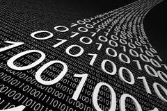 Daten 3d Lizenzfreie Stockfotos