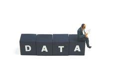 Daten Stockbild