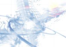 Daten bezüglich des Hintergrundes Lizenzfreies Stockbild
