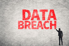 Daten-Bruch Stockfotografie