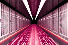 Daten-Eile Lizenzfreie Stockfotos