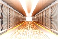 Daten-Eile Stockbilder