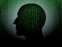 Daten-Kopf Lizenzfreie Stockfotografie