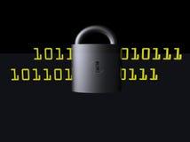 Daten-Safe Stockfoto