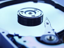 Daten-Speicher-Platte Lizenzfreie Stockfotos