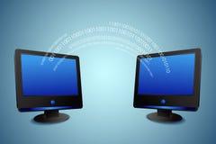 Daten-Teilen Lizenzfreie Stockfotos
