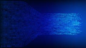 Daten verbundener Fusionshintergrund Lizenzfreies Stockfoto
