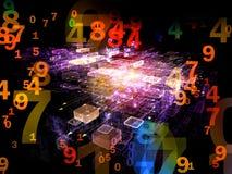 Daten-Wolke Lizenzfreie Stockbilder