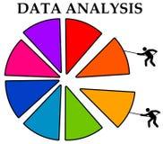 Datenanalyse lizenzfreie abbildung