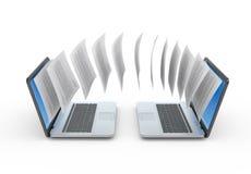 Datenaustausch Lizenzfreie Stockfotografie