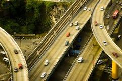 Datenbahn-Überführung Lizenzfreies Stockfoto