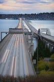 Datenbahn-Brücke Lizenzfreie Stockbilder