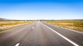 Datenbahn in Nevada lizenzfreie stockfotografie