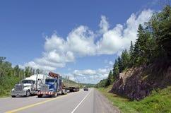 Datenbahn Transport-Kanada lizenzfreies stockfoto