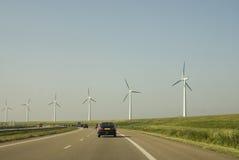 Datenbahn voll von Energie Lizenzfreies Stockbild
