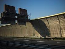 Datenbahn vom Narita-Flughafen nach Tokyo Stockfotografie