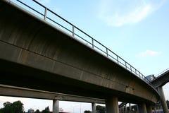 Datenbahnbrücken Stockbild