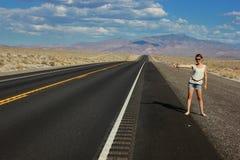 Datenbahnen in Arizona, USA Lizenzfreie Stockfotos